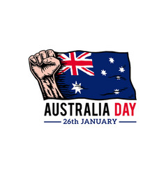 australia day vector image