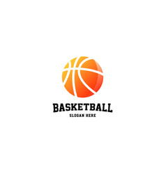 Basketball logo sport logo design vector