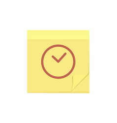Comment message note task temp time icon vector