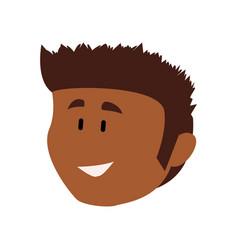 Guy face cartoon vector