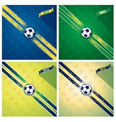 Set sport background vector