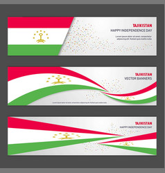 Tajikistan independence day abstract background vector