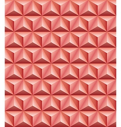 Tripartite pyramid red-brown clay seamless texture vector