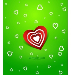 love backgriund vector image