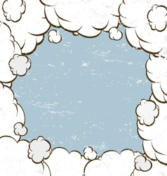 Clouds backgrounds vector image vector image