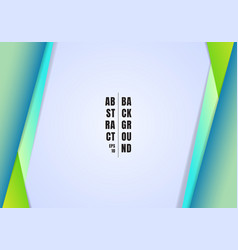 Abstract template header and footers blue vector