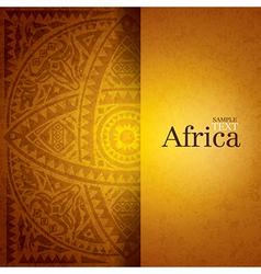African background design vector