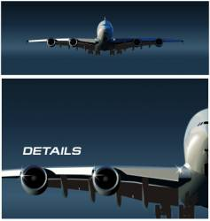 Airbus takeoff vector
