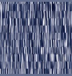 Indigo blue batik dyed effect texture background vector