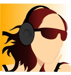 music enjoy vector image vector image