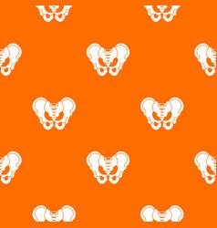 Pelvis pattern seamless vector