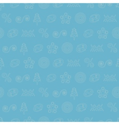 seamless background with Trypillian culture vector image vector image
