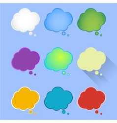 Set multicolor thought vector