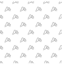 studio retro microphone icon outline style vector image
