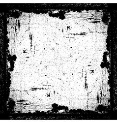 Grunge textured frame vector