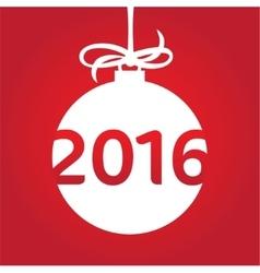 Happy new 2016 year vector image vector image