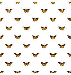 cyane butterfly pattern seamless vector image