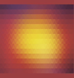 abstract geometric background colorful retro vector image