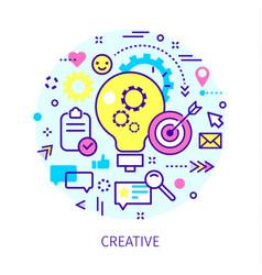 Concept creative vector