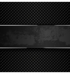 Dark grunge metal backgrounds vector image