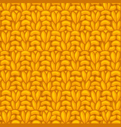 Double moss stitch pattern vector