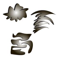 Figures vector image vector image