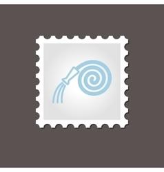 Garden Hose stamp Outline vector