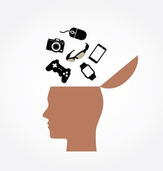 Head Design vector