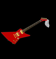 knickers guitar vector image