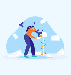 No message yet mail in mailbox vector