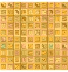 Random Pattern Mosaic vector image