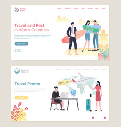 time to travel man with surfing board agency vector image