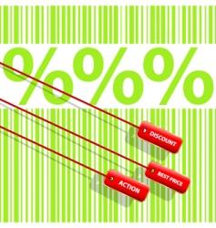 Percent sign vector