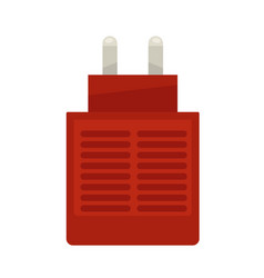 Red anti-mosquito plug-in vector