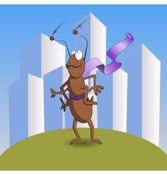 Super Ant Childrens vector image