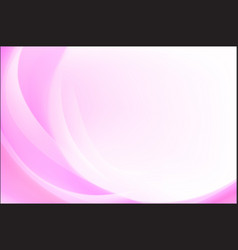 Abstract background pink curve and wave element vector