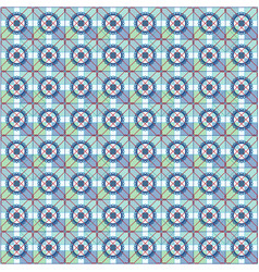 arabic seamless pattern oriental mosaic style vector image