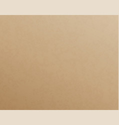Craft paper texture carton board empty cardboard vector