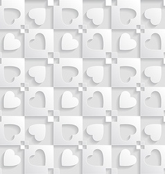 Elegant pattern with hearts Background for vector image