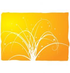 floral spray vector image