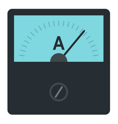 gauge element icon isolated vector image