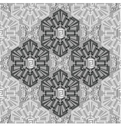 geometric abstract greek seamless pattern vector image