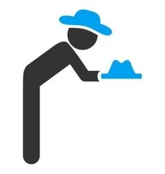 User Servant Icon vector