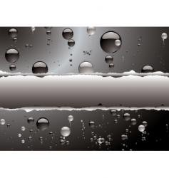 bubble rip vector image vector image