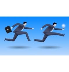 Hot idea business concept vector image vector image