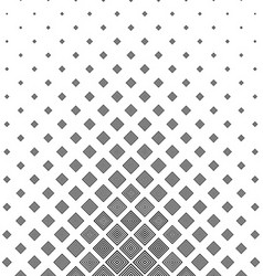 Black and white concentric square pattern vector