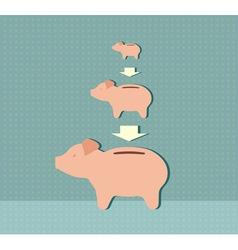 economy concept vector image