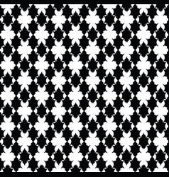 luxury pattern royal black and white pattern vector image
