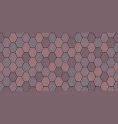 old roof tiles vector image