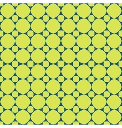 Polka dot geometric seamless pattern 2506 vector image